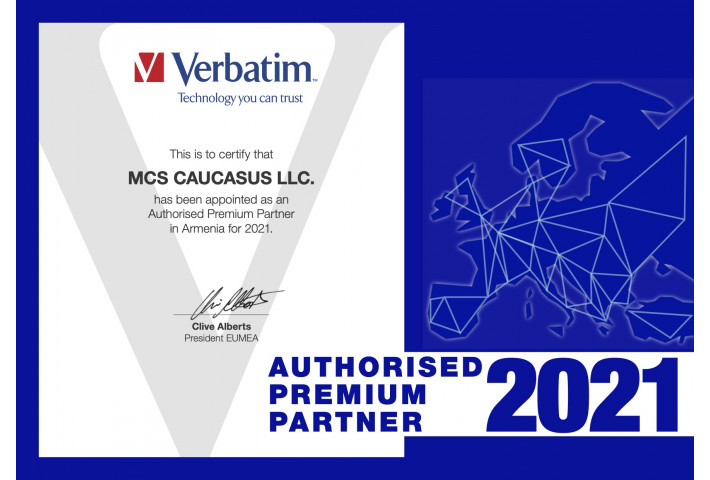 Verbatim exclusive partner in Armenia