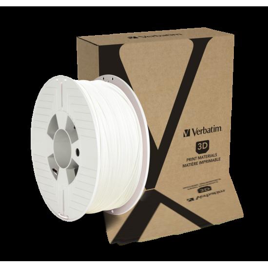 Verbatim PET-G Filament 1.75mm 1kg White