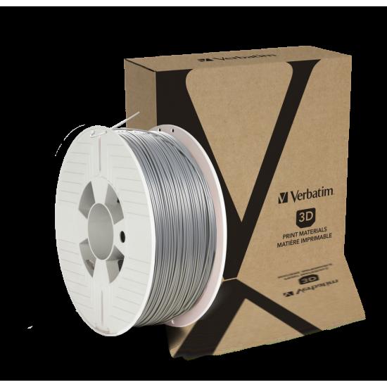 Verbatim PLA Filament 1.75mm 1kg Silver
