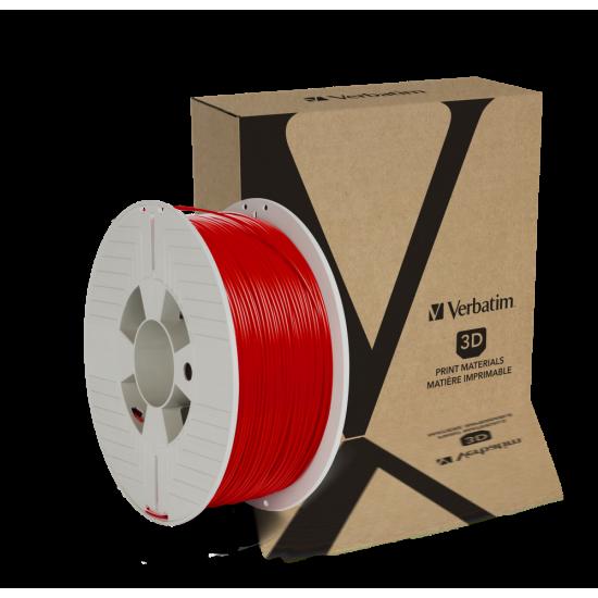 Verbatim PLA Filament 1.75mm 1kg Red