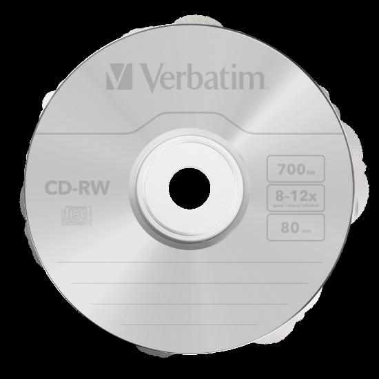 Verbatim CD-RW 700MB 12x 10pk