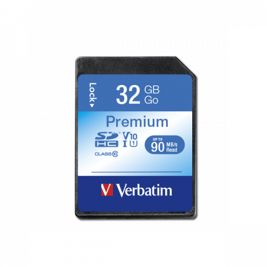 Verbatim Premium U1 SDHC Card 32GB