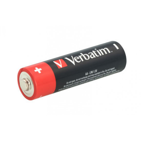 Verbatim AA Alkaline Batteries 24pk.