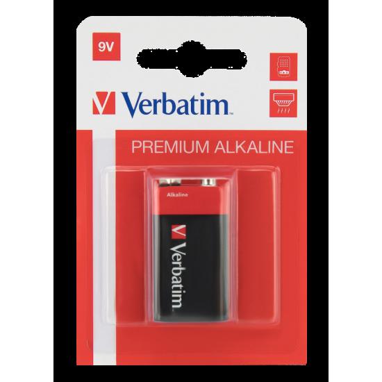 Verbatim 9V Alkaline Batteries