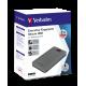 Verbatim Executive Fingerprint Secure Portable USB-C HDD 2TB