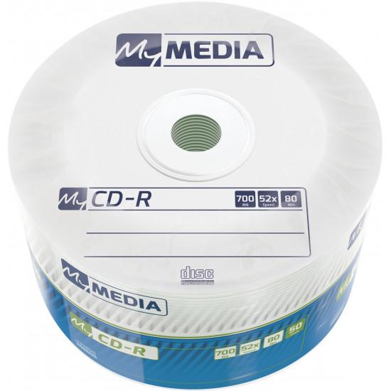 MyMedia CD‑R 52x 700MB 50 pk