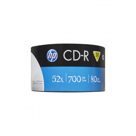 HP CD‑R 52x 700MB 50 pk