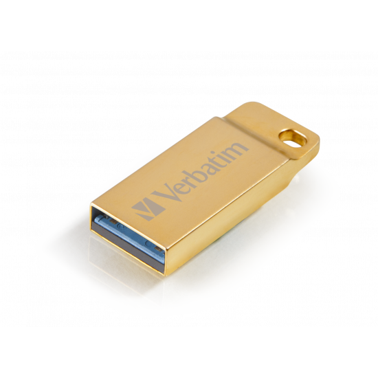 Verbatim USB 3.0 Flash Drive Metal Executive Gold 16GB